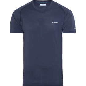 Columbia Mountain Tech III Camiseta manga corta Hombre, collegiate navy